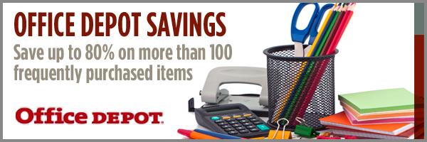 Office Depot Savings