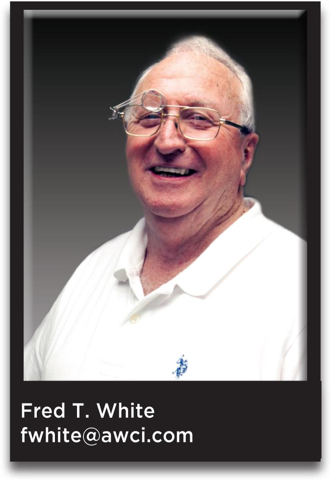 Fred T. White, CMW21, AWCI President