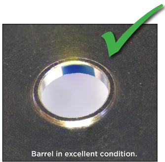 Barrel in excellent condition.