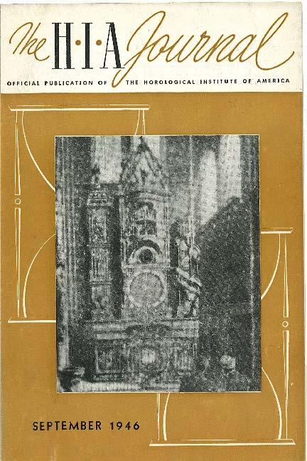 September 1946 HIA Journal