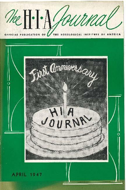 April 1947 HIA Journal