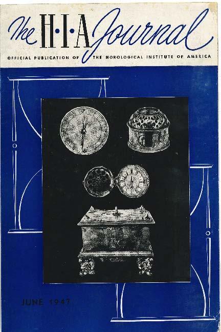June 1947 HIA Journal