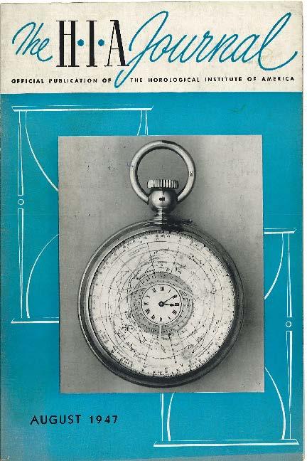 August 1947 HIA Journal