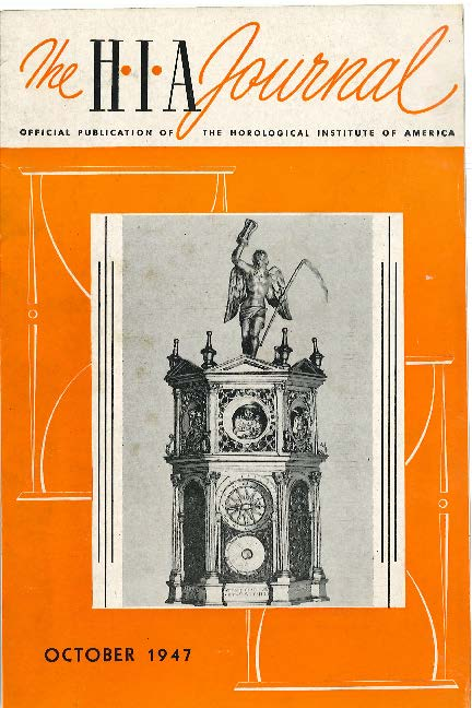 October 1947 HIA Journal