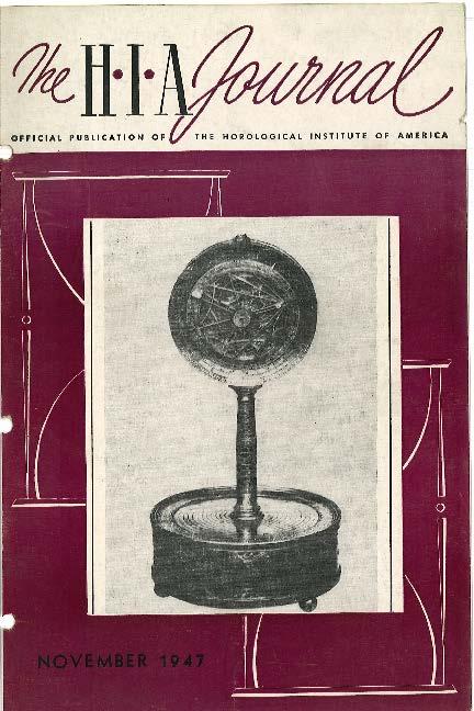 November 1947 HIA Journal