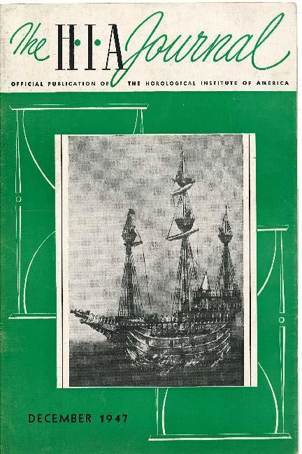 December 1947 HIA Journal