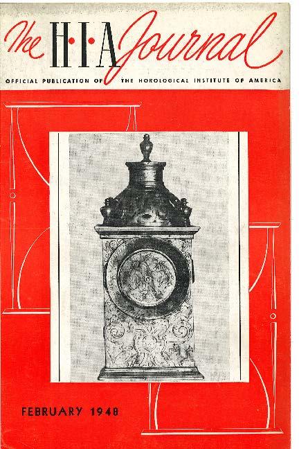 February 1948 HIA Journal