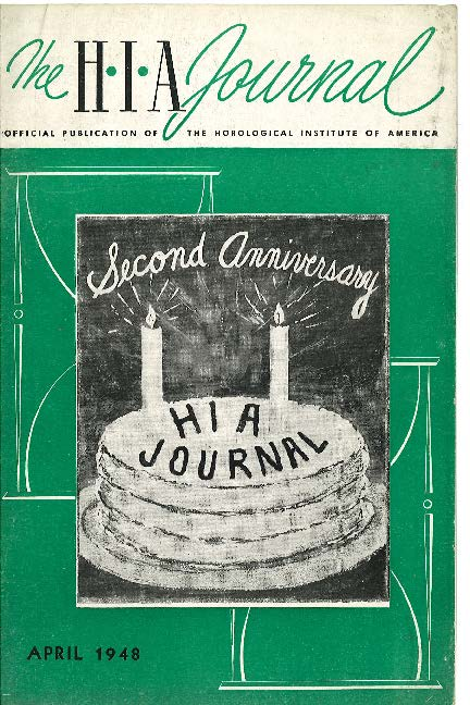 April 1948 HIA Journal