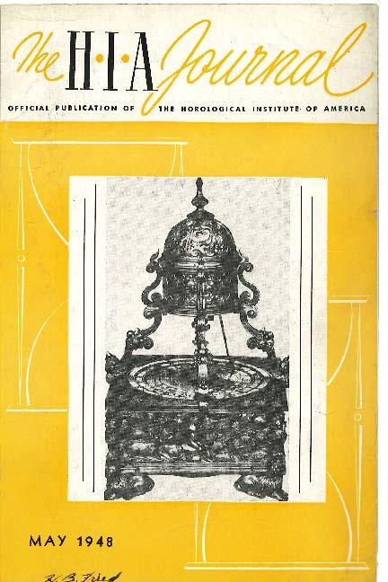 May 1948 HIA Journal