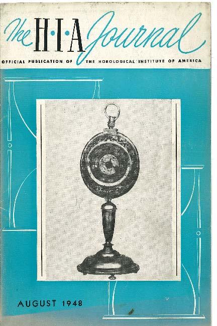 August 1948 HIA Journal