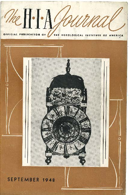 September 1948 HIA Journal