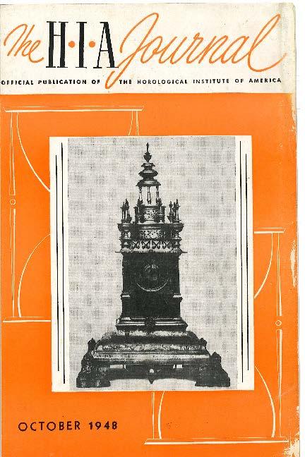 October 1948 HIA Journal
