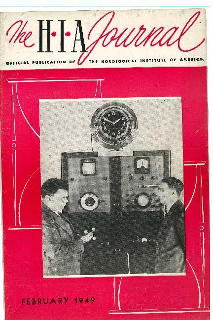 February 1949 HIA Journal