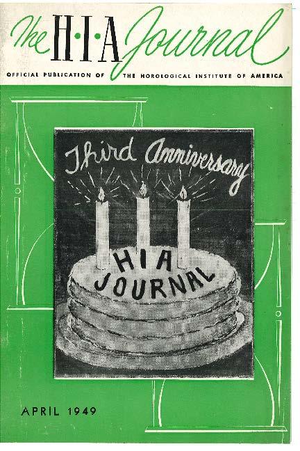 April 1949 HIA Journal
