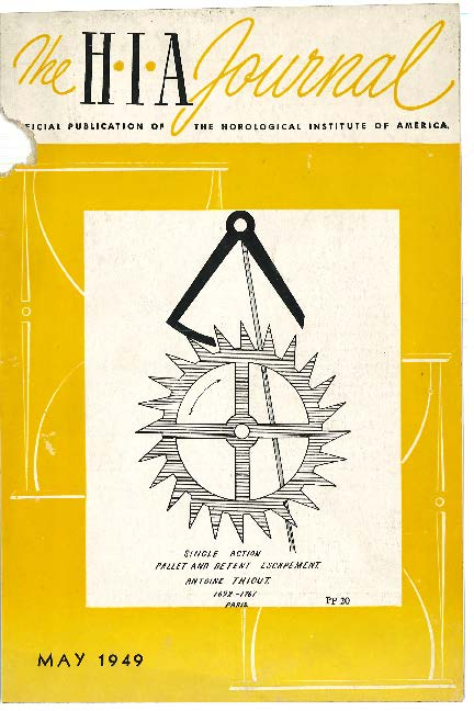 May 1949 HIA Journal