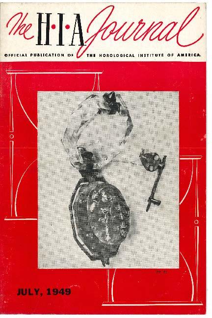 July 1949 HIA Journal