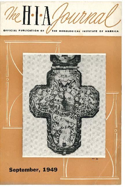 September 1949 HIA Journal