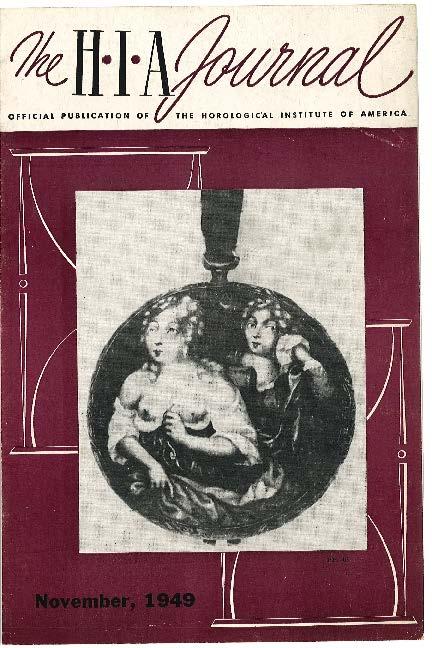 November 1949 HIA Journal