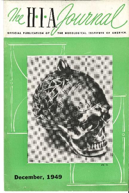 December 1949 HIA Journal
