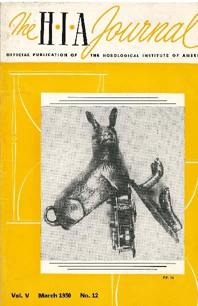 March 1950 HIA Journal