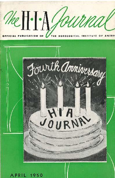 April 1950 HIA Journal
