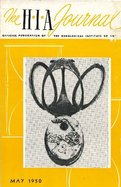 May 1950 HIA Journal