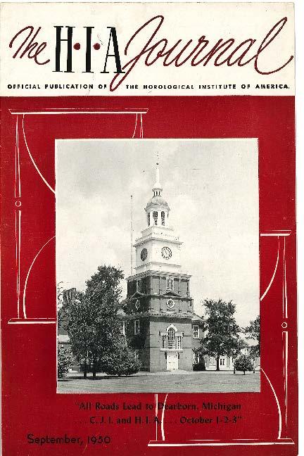 September 1950 HIA Journal