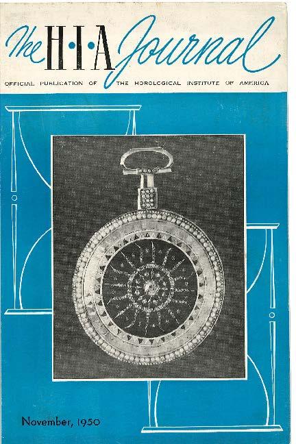 November 1950 HIA Journal