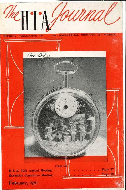 February 1951 HIA Journal