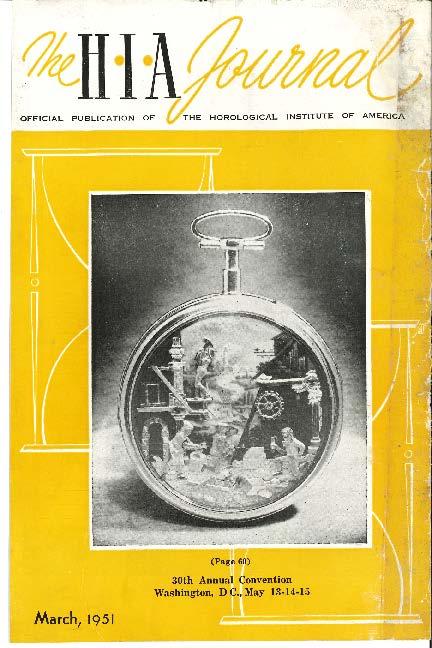 March 1951 HIA Journal