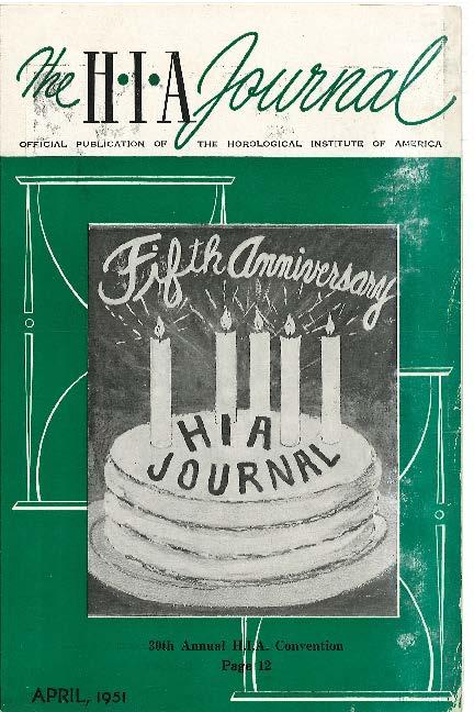 April 1951 HIA Journal