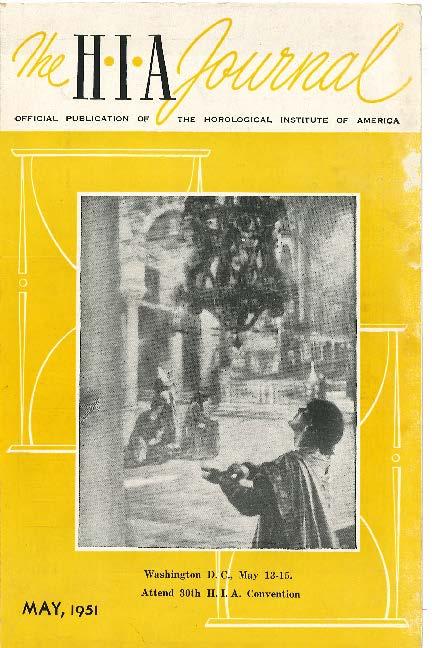 May 1951 HIA Journal