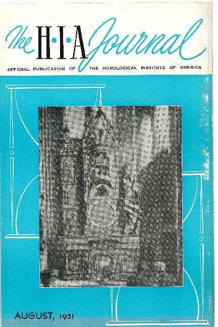 August 1951 HIA Journal
