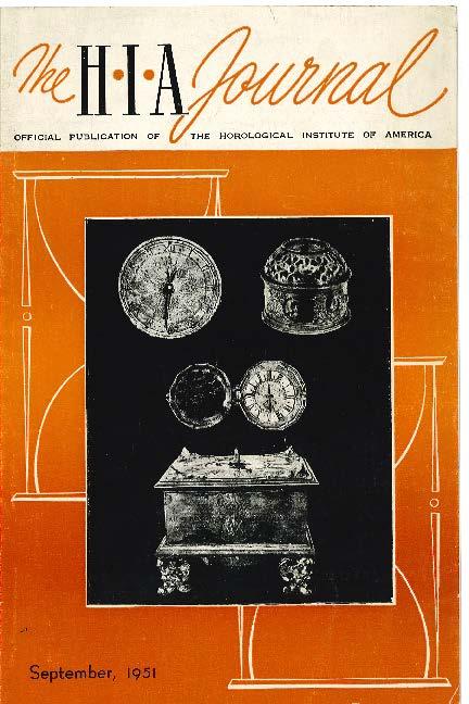 September 1951 HIA Journal