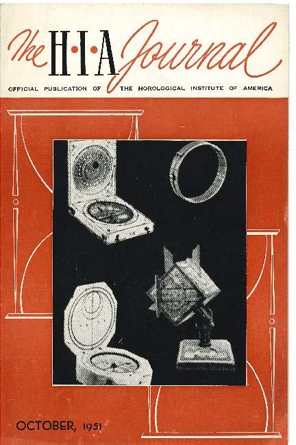 October 1951 HIA Journal