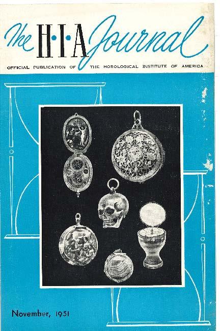 November 1951 HIA Journal