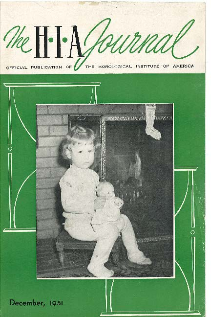 December 1951 HIA Journal