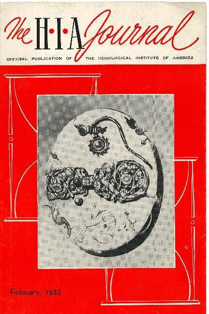 February 1952 HIA Journal