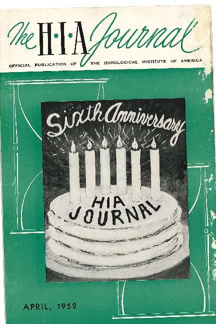 April 1952 HIA Journal