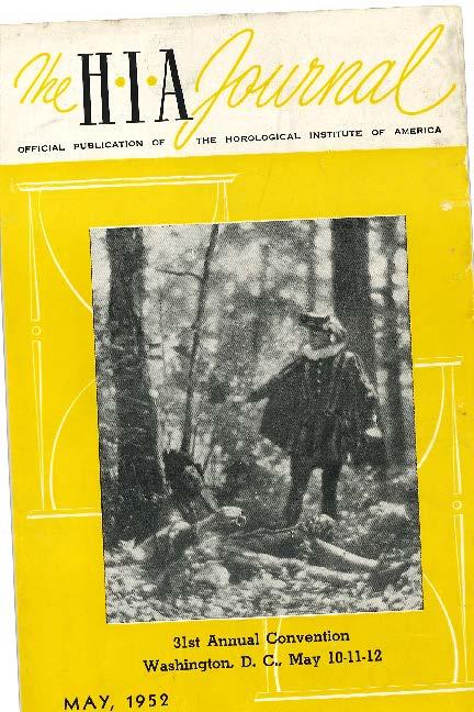May 1952 HIA Journal