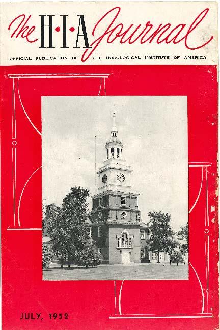 July 1952 HIA Journal