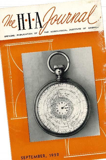 September 1952 HIA Journal