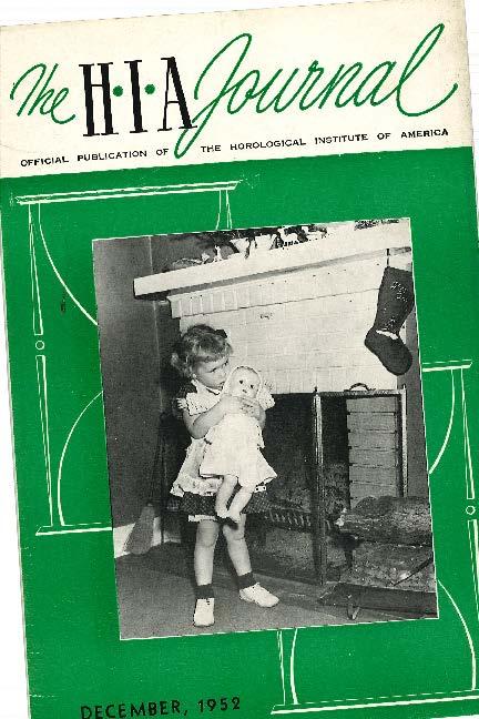 December 1952 HIA Journal