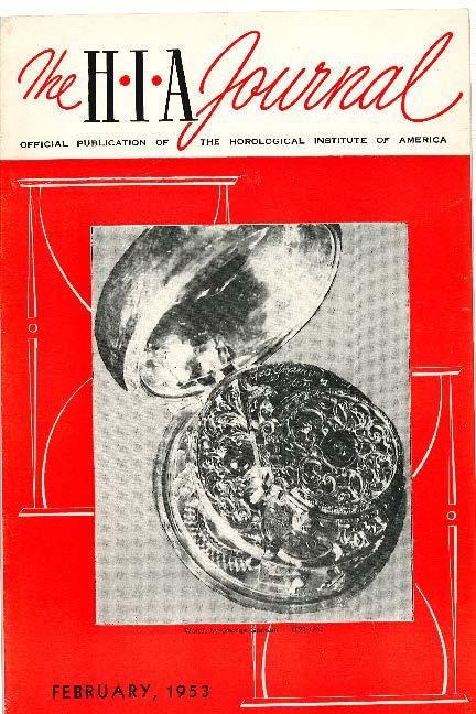 February 1953 HIA Journal