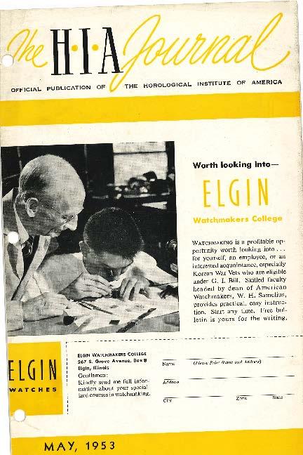 May 1953 HIA Journal