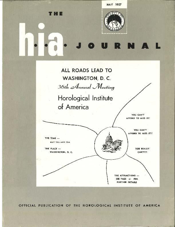 May 1957 HIA Journal