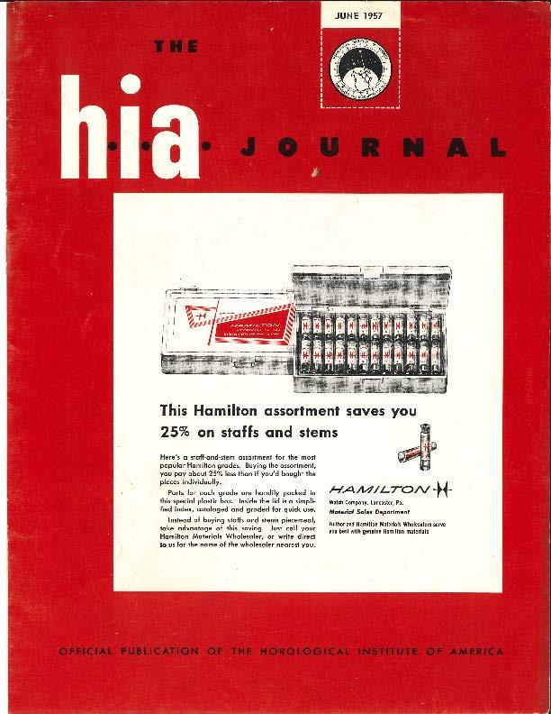 June 1957 HIA Journal