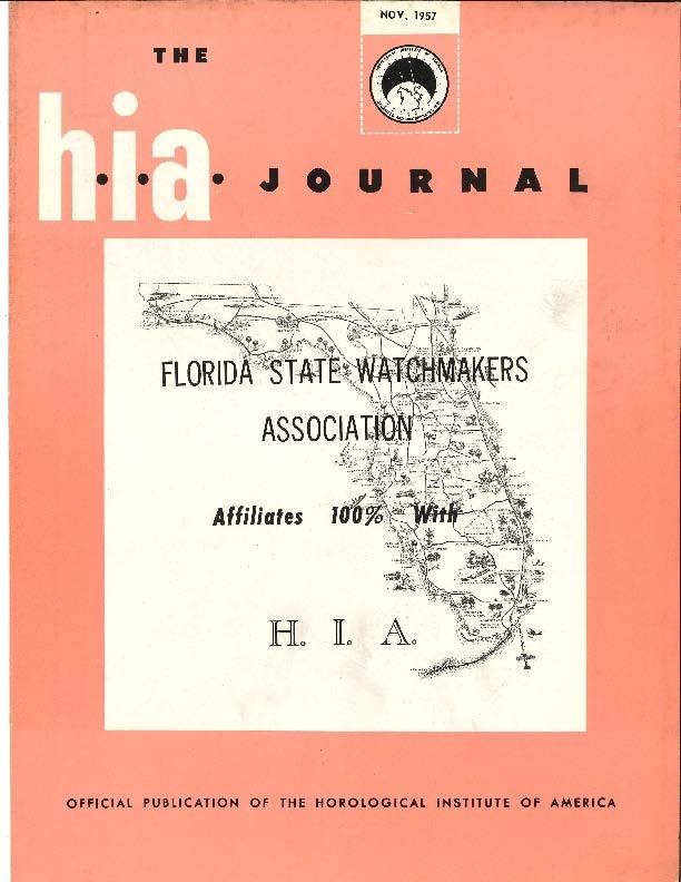 November 1957 HIA Journal