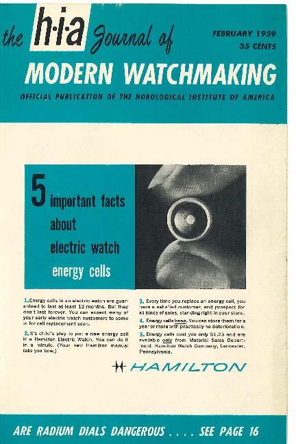 February 1959 HIA Journal