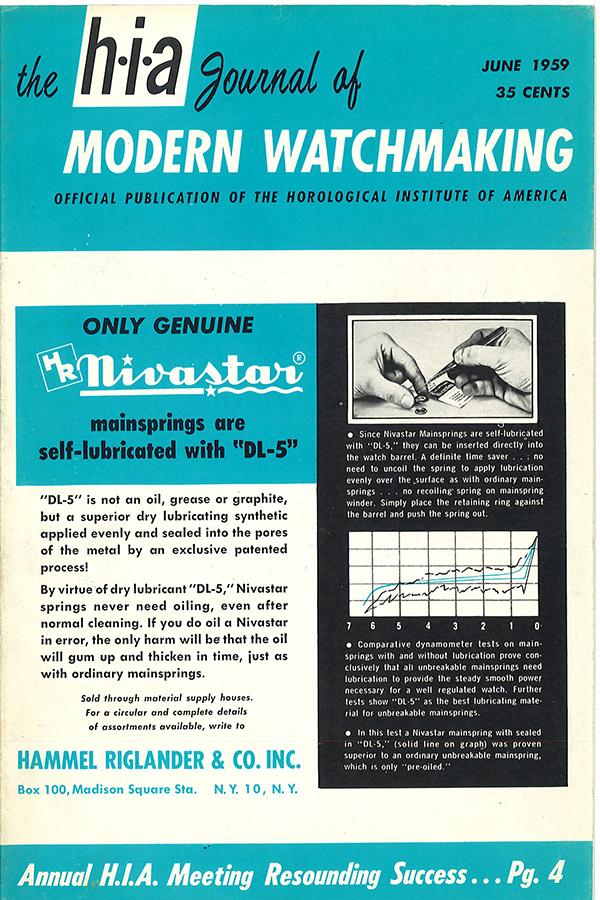 June 1959 HIA Journal
